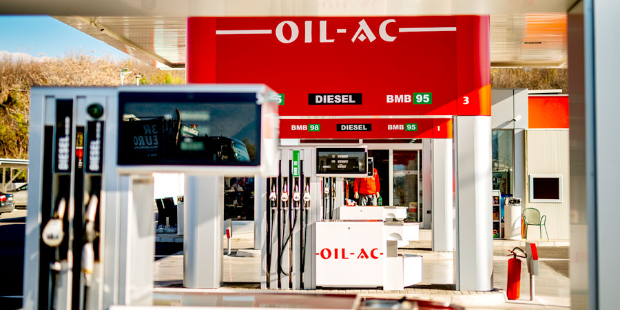 Oil AC - vrste goriva
